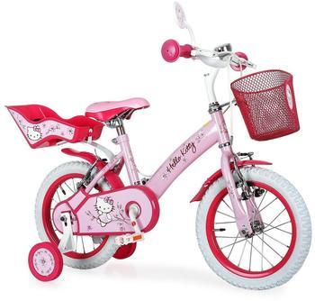 DINO BIKES Hello Kitty 12 Zoll RH 21 cm rosa/weiß