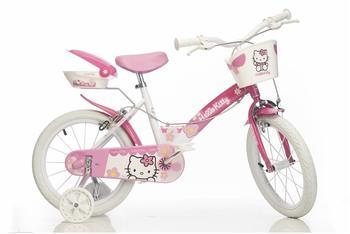 Hello Kitty 14 Zoll RH 25 cm rosa/weiß