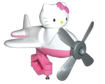 Bike Fashion Lenkerflieger Hello Kitty weiß/pink mit Motiv