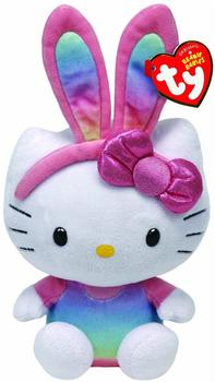 Ty 41017 Hello Kitty Baby - Hasenohren Regenbogen, 15cm lim.