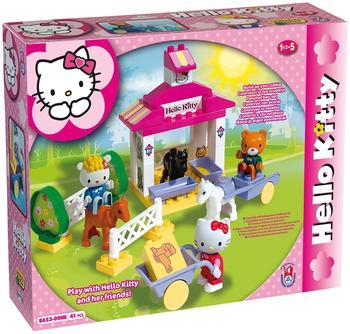 Unico Plus Hello Kitty Ponyhof Bausteine 41 teilig