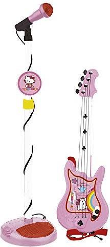 Hello Kitty Gitarre und Standmikrofon Hello Kitty