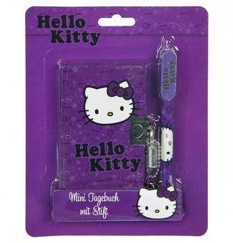 UNDERCOVER Hello Kitty - Mini Tagebuch mit Kugelschreiber
