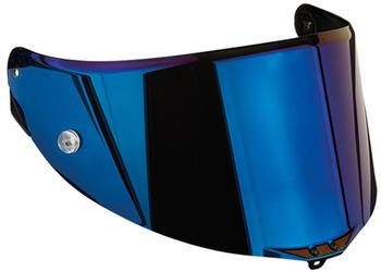 AGV Visier RACE 2 blau verspiegelt