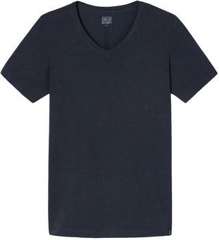 Schiesser Shirt Long Life Soft schwarz (149043-001)