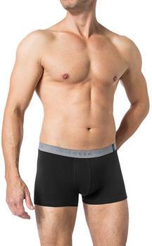 Schiesser Shorts 95/5 2er-Pack schwarz-grau (155587-901)