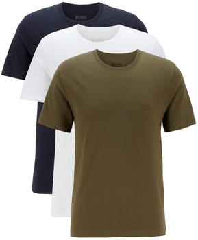 Hugo Boss T-Shirts aus Baumwolle im 3-Pack (50325887) grün