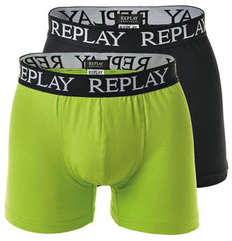 Replay 2-Pack Trunks lime green/black (I101005)