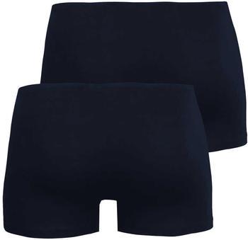 Schiesser Shorts Essentials 2er-Pack dunkelblau (205222-803)