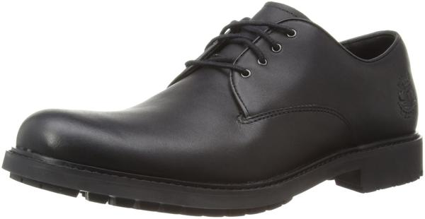 Timberland Stormbuck Plain Toe Oxford black smooth