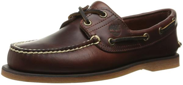 Timberland Classic 2-Eye Boat rootbeer smooth