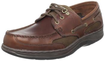 Sebago Clovehitch II brown oiled waxy leather