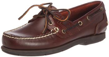 Timberland Icon Classic 2-Eye Boat marron foncé red berry smooth