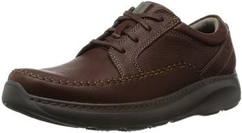 Clarks Charton Vibe brown leather