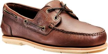 Timberland Classic 2-Eye Boat dark brown smooth 25021