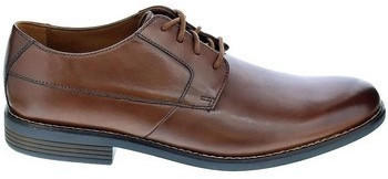 Clarks Becken Plain tan leather