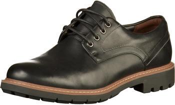 Clarks Batcombe Hall black leather