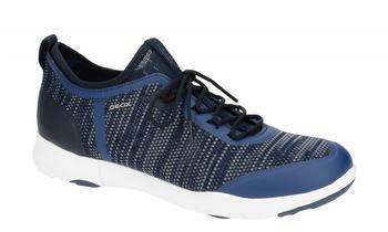 Geox Herren-Schnürschuhe blau/weiß (U826BA 0006KC4000)