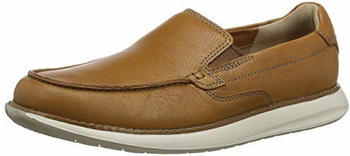 Clarks Slipper Tan Leather braun (261486647)