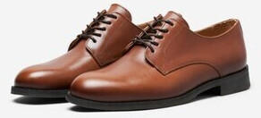 Selected Slhlouis Leather Derby Shoe B Noos (16070194) cognac