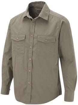 Craghoppers Kiwi Long Sleeved Shirt Pebble