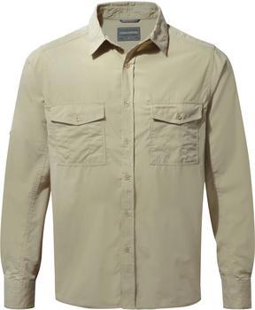 Craghoppers Kiwi Long Sleeved Shirt Oatmeal