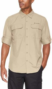 Columbia Silver Ridge LS Shirt Men fossil