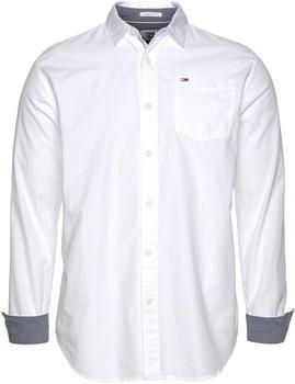 Tommy Hilfiger Regular Fit Baumwollhemd weiß (DM0DM04406-100)