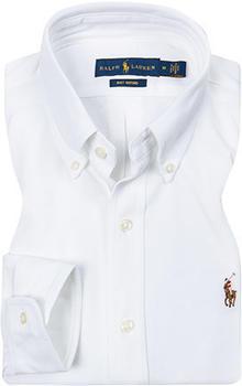 Ralph Lauren Classic-Fit Piqué-Oxfordhemd weiß (710686615)