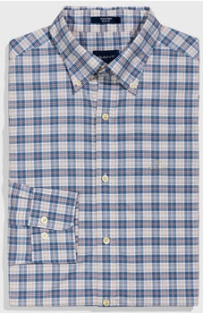 GANT Regular Fit Tech Prep Broadcloth Plaid Shirt coronet blue (3017430-401)