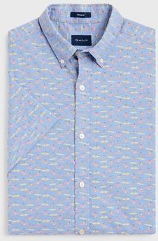 GANT Micro Surfer Hemd capri blue (3014931-468)
