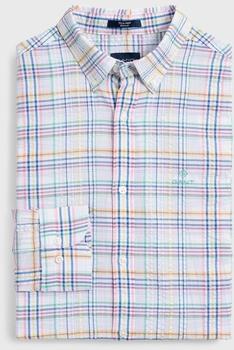 GANT Tech Prep Seersucker Hemd white (3014330-110)