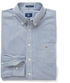 GANT Regular Broadcloth Banker Hemd persian blue (3046500-423)