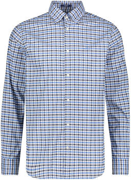 GANT Regular Fit Tech Pre Jaspé Gingham Oxford Shirt atlantic sea (3022530-462)