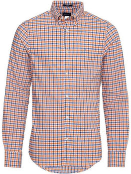 GANT Regular Fit Tech Pre Jaspé Gingham Oxford Shirt amber glow (3022530-800)