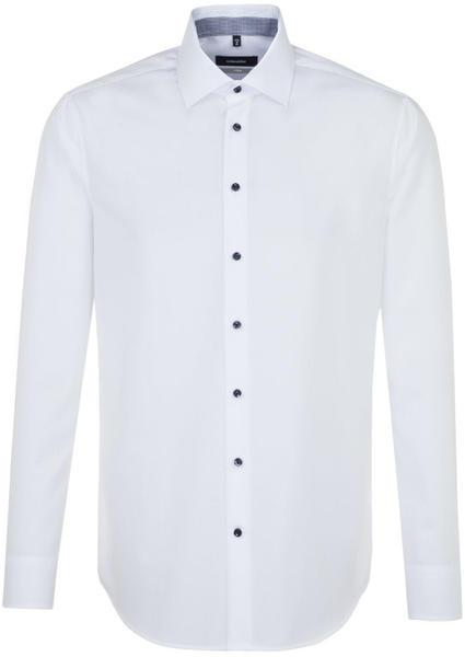 Seidensticker Bügelfreies Popeline Business Hemd in X-Slim mit Kentkragen (01.465410)