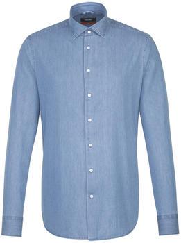 Seidensticker Denim Business Hemd in Slim mit Kentkragen (660910-12)