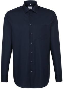 Seidensticker Bügelfreies Popeline Business Hemd dunkelblau (01.001000)