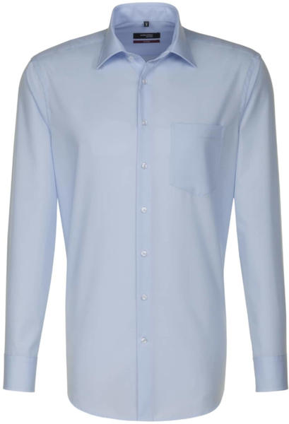 Seidensticker Bügelfreies Popeline Business Hemd hellblau (01.001000)