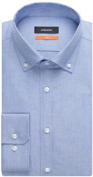 Seidensticker Bügelleichtes Oxford Business Hemd in Slim mit Button-Down-Kragen light blue (01.660982)