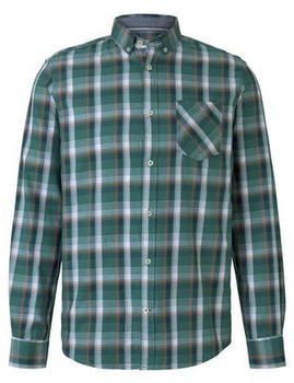 Tom Tailor Longsleeve green base colourful check (1017356)