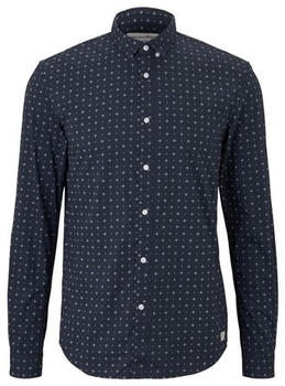 Tom Tailor Denim Longsleeve navy minimal aop (1016214)