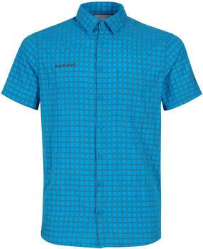 Mammut Lenni Shortsleeve Shirt Men gentian/titanium