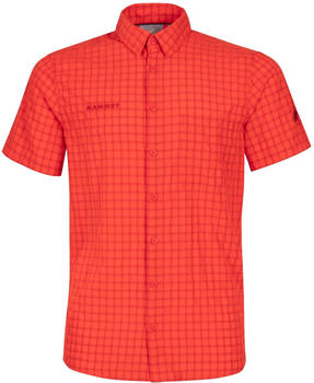 Mammut Lenni Shortsleeve Shirt Men spicy
