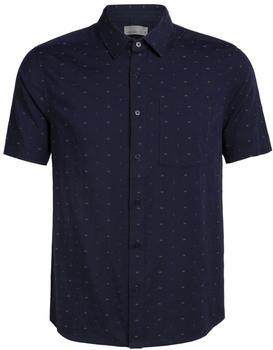 icebreaker-mens-cool-lite-compass-short-sleeve-shirt-midnight-navy-dobby