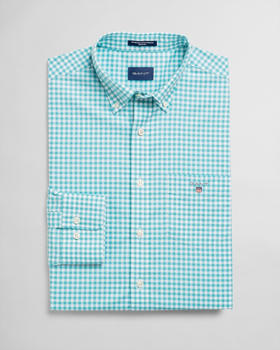 GANT Broadcloth Gingham Shirt aqua (3046700-450)