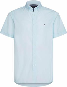 Tommy Hilfiger Short Sleeve Slim Fit Shirt (MW0MW12757-CYR) blue
