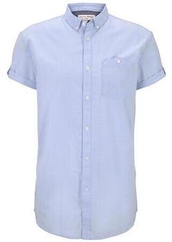 Tom Tailor Denim Hemd (1018830) light blue slub stripe