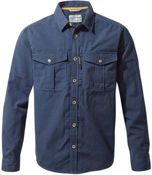 craghoppers-kiwi-ripstop-shirt-blue-navy
