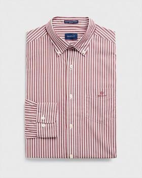 gant-regular-fit-broadcloth-hemd-mit-streifen-3062000-617-mahogny-red